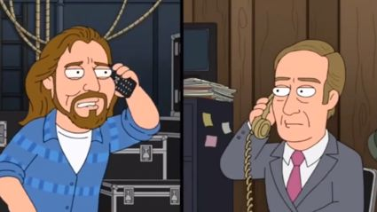 This 'Vedder Call Saul' bit from Family Guy is brilliant!