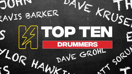 Radio Hauraki's Top 10 - Drummers