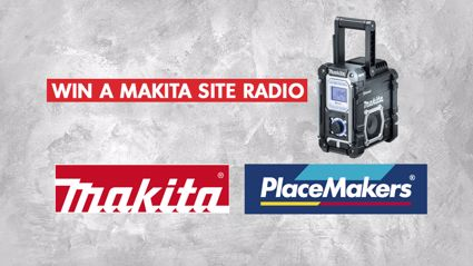 Win a Makita Site Radio thanks to Placemakers