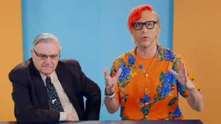 Sacha Baron Cohen pranks former Arizona sheriff Joe Arpaio into debating gun control with a Shopkins toy