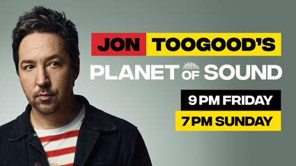 Hauraki is stoked to welcome back Jon Toogood to the on air line up for 2018 for his weekly radio show Planet Of Sound!
