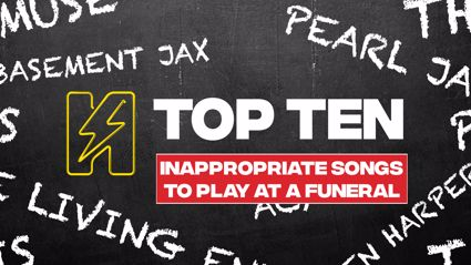 Radio Hauraki's Top 10 - Inappropriate Songs To Play At A Funeral