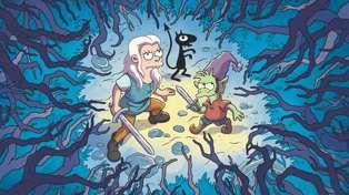 Matt Groening's new Netflix cartoon Disenchantment is not for kids