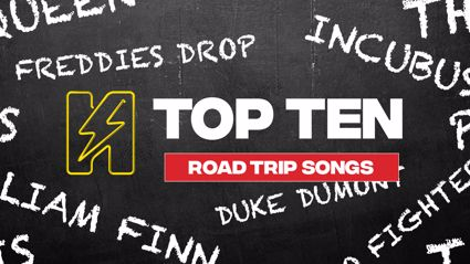 Radio Hauraki's Top 10 - Road Trip Songs