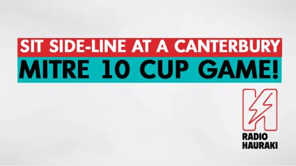 CHCH: Sit Side-line at the Canterbury Mitre 10 Cup!