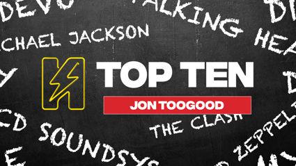 Radio Hauraki's Top 10 - Jon Toogood