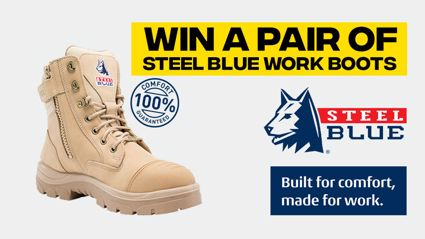 Win a pair of Steel Blue Work Boots