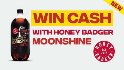 Win $500 with Honey Badger Moonshine