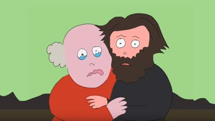 Watch the teaser for Tenacious D's new animated series 'Post Apocalypto'