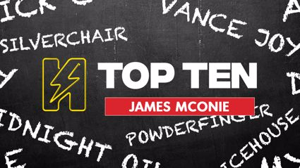 Radio Hauraki's Top 10 - James McOnie