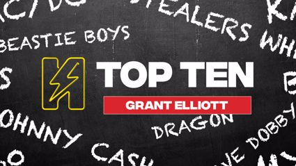 Radio Hauraki's Top 10 - Grant Elliott aka The Hairy Javelin