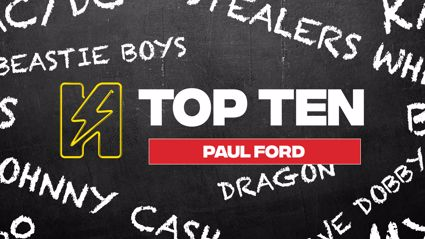 Radio Hauraki's Top 10 - Paul Ford