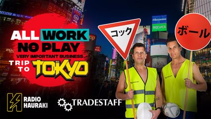 All Work No Play Important Business Trip to Tokyo with Tradestaff