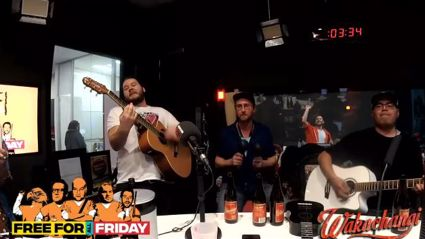 "Watch the Free For All Friday Band cover ""Sweet Caroline"""