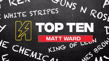 Radio Hauraki's Top 10 - Matt Ward