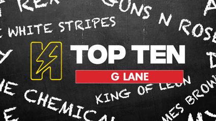 Radio Hauraki's Top 10 - G Lane