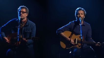 "Watch Flight Of The Conchords play ""Father & Son"" live on 'The Late Show with Stephen Colbert'"