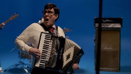 "Watch the video for ""Africa"" by Weezer (starring Weird Al Yankovic)"