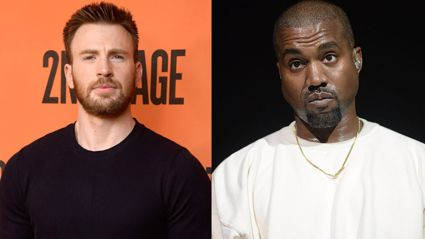 Chris Evans calls out Kanye West