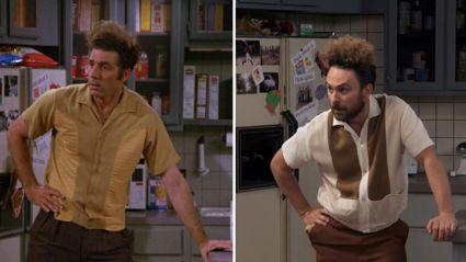 'It's Always Sunny' perfectly recreate iconic 'Seinfeld' scene