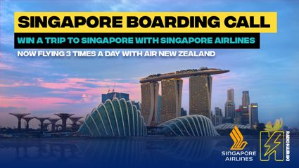 Win a trip to Singapore with Singapore Airlines