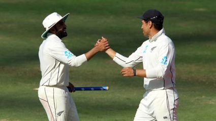 Ajaz Patel makes dream test debut