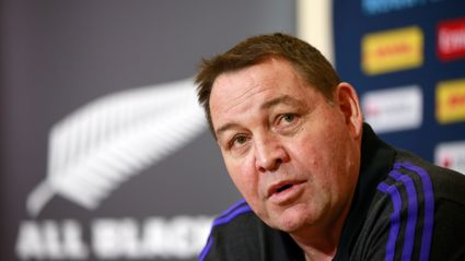 Exclusive footage of Steve Hansen announcing he's staying...
