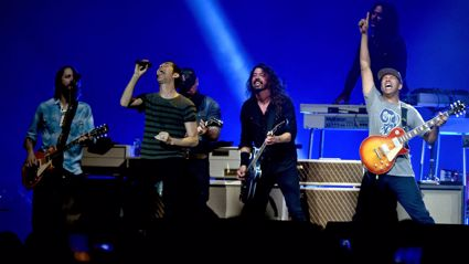 Watch the Foo Fighters play Black Sabbath live with Zac Brown & Tom Morello
