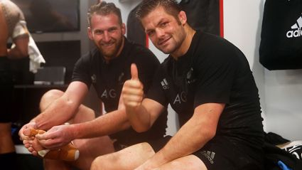 Richie McCaw's advice to Kieran Read ahead of final year as All Black