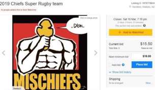 Fans post Chiefs for sale on TradeMe with $1 price tag after winless start