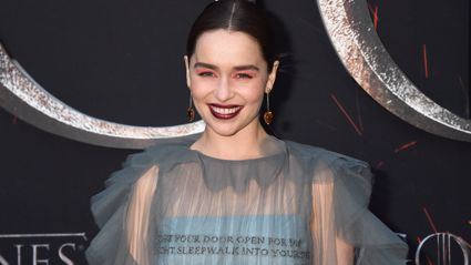 """Emilia Clarke says her 'Game of Thrones' character gave her a """"huge amount of confidence"""""""