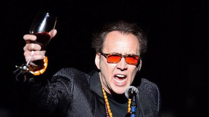 """Nicolas Cage's 4-day marriage ends with """"Purple Rain"""" karaoke session"""