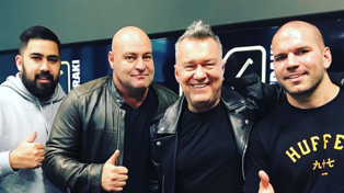 Bhuja interviews Jimmy Barnes