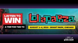 Win a trip to Lollapalooza!!!