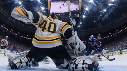 St. Louis had the Bruins hurting and singing the blues to even the Stanley Cup Final at 2