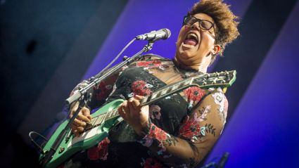 "Listen to the new song ""History Repeats"" by Brittany Howard of Alabama Shakes"