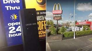 Hamilton McDonald's employee hurls abuse at Drive-Thru customer