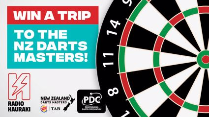 Win a trip to the NZ Darts Masters!
