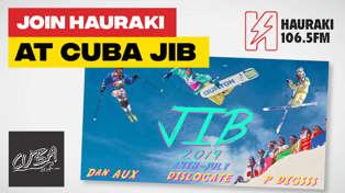 CHCH: Join Hauraki at CUBAJIB!