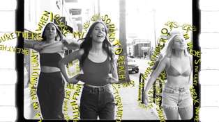 "Watch the video for HAIM's new song ""Summer Girl"""