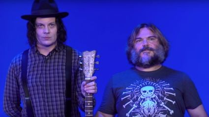 Introducing Jack White & Jack Black's new collaboration
