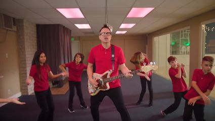 "Watch the video for Blink 182's latest tune ""Darkside"""
