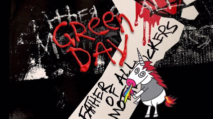"Listen to the brand new Green Day song ""Father Of All..."""