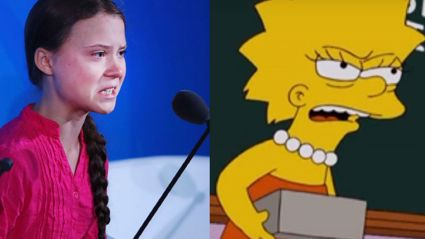 The Simpsons predicted Greta Thunberg's UN speech