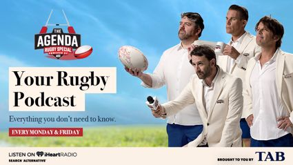 The ACC: The Agenda - Rugby Special: Foreplay & Man Love