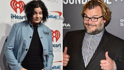 "Jack Black compares visiting Jack White's house to ""going to Graceland"""