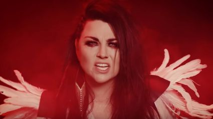 "Evanescence release music video for cover of Fleetwood Mac classic ""The Chain"""