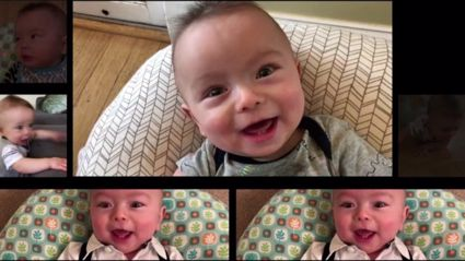 "Father edits baby babble into cover of AC/DC's ""Thunderstruck"