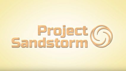 "Introducing Project Sandstorm - The world's first ""sandstorm"" powered sandstorm detector"