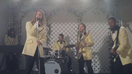 "Watch the brand new video for Tame Impala's latest tune ""Lost In Yesterday"""
